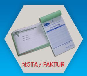 Nota Faktur